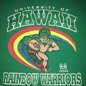 University of Hawaii Rainbow Warriors XL Tshirt
